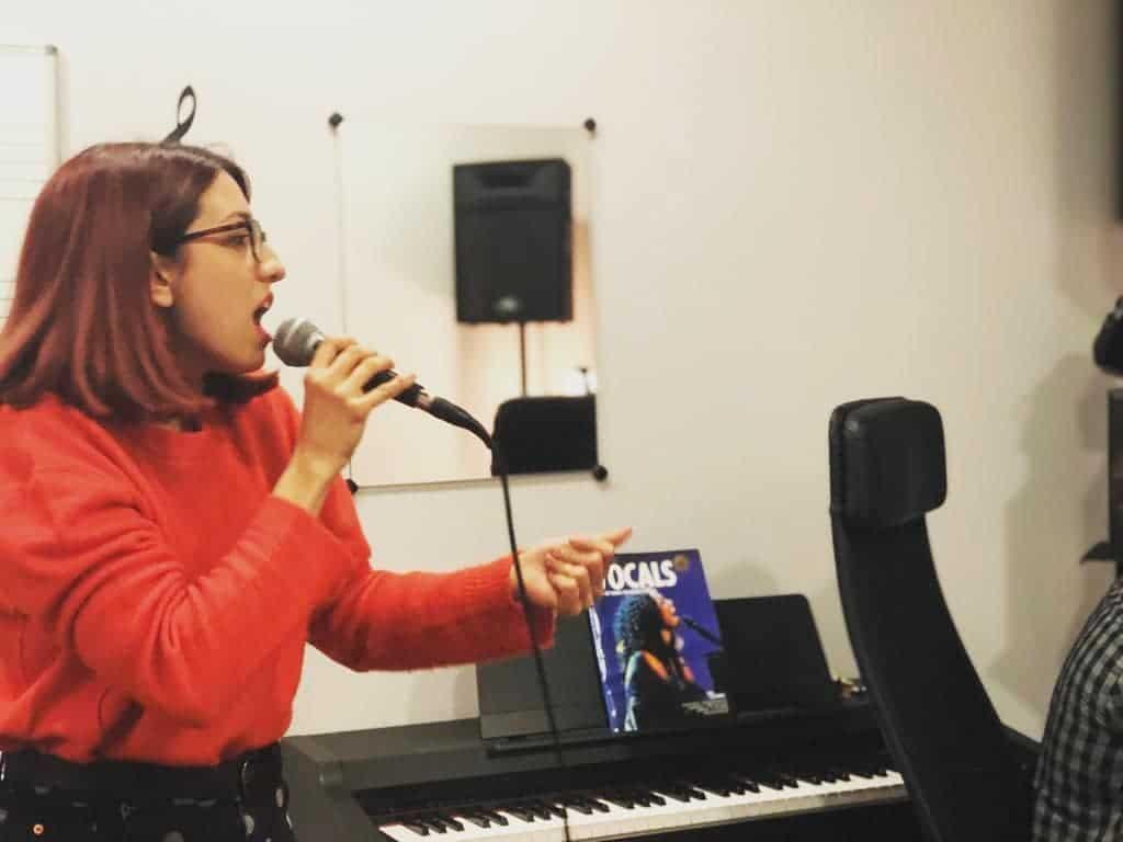 Clase de Canto en Madrid en modalidad Individual Presencial