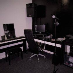 Una de las salas de la Academia de Canto