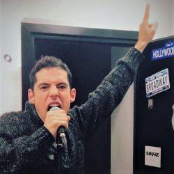 Alumno convertido en estrella del rock en la Escuela de Canto