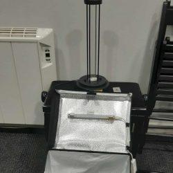 Lámpara UVC, ultravioleta y con ozono, para desinfectar