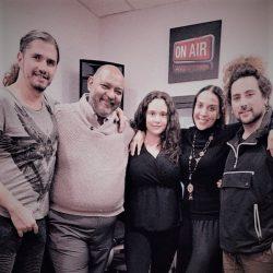Pepe Herrero con José Pardial y Beatriz Albert, profesores de Albert's Voices... ¡Tú también puedes aprender a Cantar!